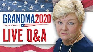 Grandma 2020 LIVE Q&A!