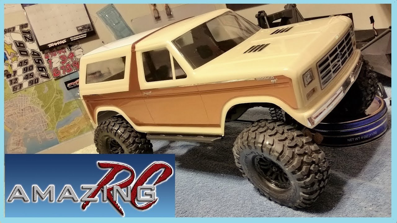 traxxas trx 4 custom 1981 ford bronco paint how to. Black Bedroom Furniture Sets. Home Design Ideas