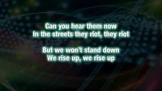 Mavado Ft Akon & Rick Ross - Rise Up (lyrics on screen)