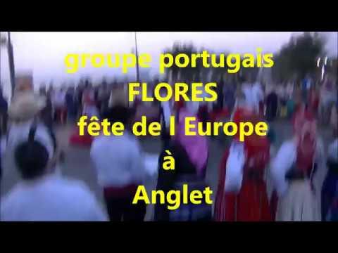 groupe portugais FLORES  à la fête de l europe   50enaire du jumelage   d anglet  ansbach