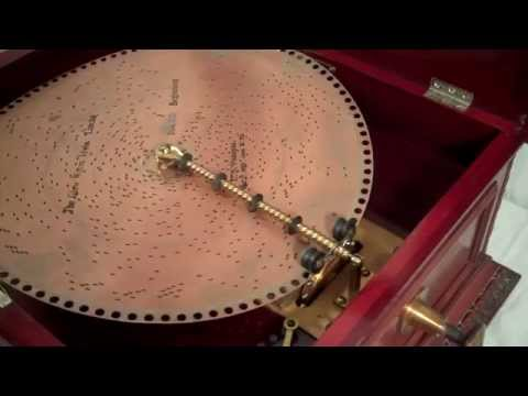 1890s Regina Disc Music Box