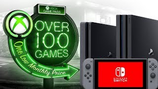 """Xbox Game Pass Coming To """"every Device"""" - Does This Really Mean Ps4 And Nintendo Switch?"""
