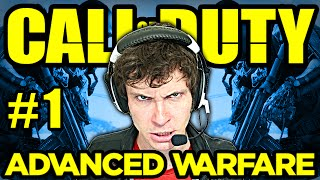 CALL OF DUTY ADVANCED WARFARE Gameplay Part 1 - CITY OF DEATH - CoD Advanced Warfare Gameplay