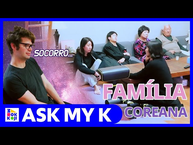 Ask My K : Coreaníssima - Foreign boyfriend survives Korean Lunar New Year with the in laws