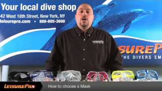 How to Choose a Dive Mask   By Leisurepro