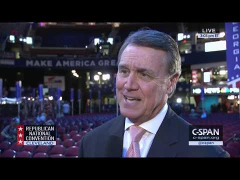 Senator David Perdue - Steve Scully Interview