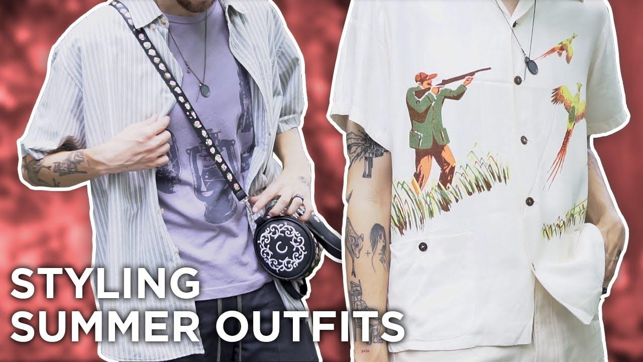 Styling 3 Summer Outfits (Feat. Kiko, Vintage, Staatsballett, Jakob Hetzer) 7