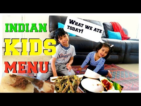 Indian kids menu (Part 2) | Indian Recipes for kids | Healthy Indian food for kids