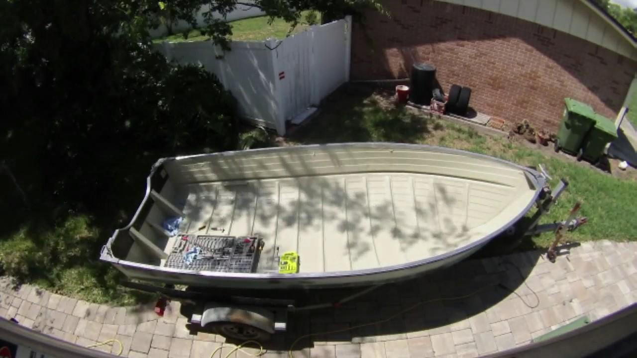 Phase 5 1964 Starcraft 14 Aluminum Boat Restoration