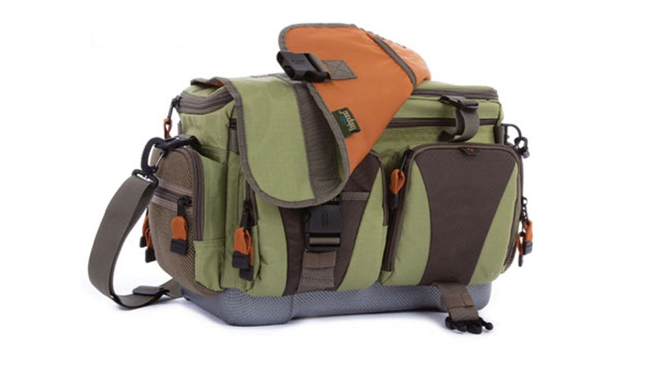 Fishpond cloudburst fly fishing gear boat bag youtube for Fly fishing backpack