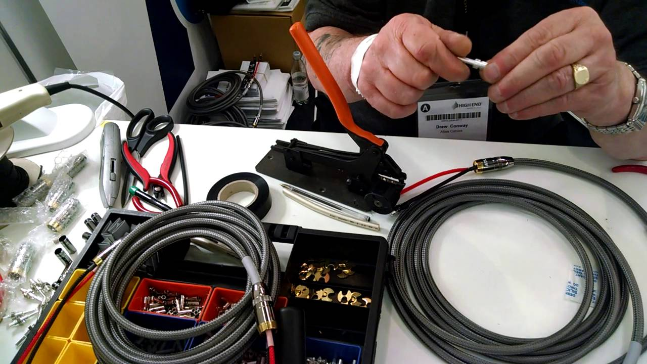 Atlas Cables @ Munich High End 2016 - YouTube