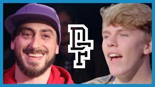 JUAN VS MR TONGUE TWISTER | Dont Flop Rap Battle