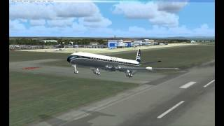 Overview and flight in Just Flight DH Comet for FSX