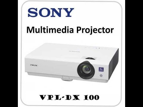 sony xga vpl dx102 projector youtube rh youtube com