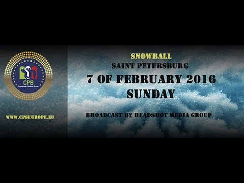 CPS Snowball 2016 / Saint Petersburg, Russia / Sunday