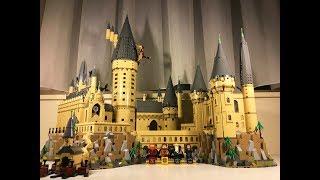 【别人家的开学】乐高哈利波特71043霍格沃滋大城堡   巴特曼动手玩儿