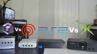 PlayStation 2 Vs Xbox Vs GameCube Vs Dreamcast - Review