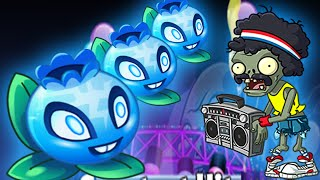 Plants vs Zombies 2: New Zombie Boom Box Zombie - Neon Mixtape Tour Side B