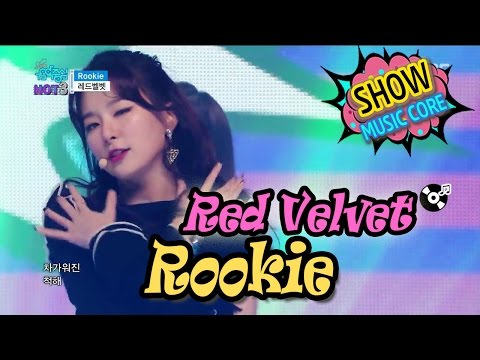 [HOT] RED VELVET - Rookie, 레드벨벳 - 루키 Show Music Core 20170225