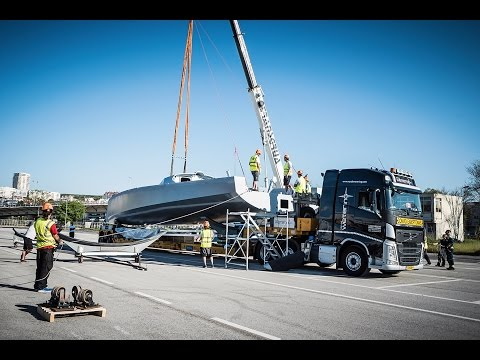 Volvo Trucks - 'A massive journey to make' - Volvo Ocean Rac