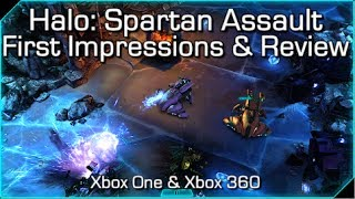 Halo: Spartan Assault - Xbox One & Xbox 360 - First Impressions & Review