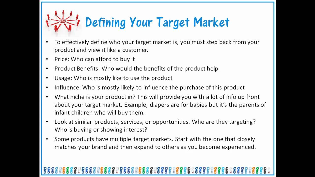 how to make a target market