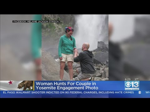 Woman Hunting For Couple She Took Engagement Photo Of At Yosemite