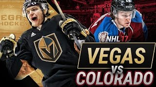 WHO WOULD WIN TODAY? VEGAS vs COLORADO - NHL 17