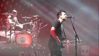 Blink 182 Man Overboard Live Montreal 2011 HD 1080P