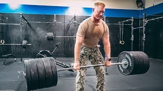 I'm Challenging British Army YouTubers to a STRENGTH COMPETITION