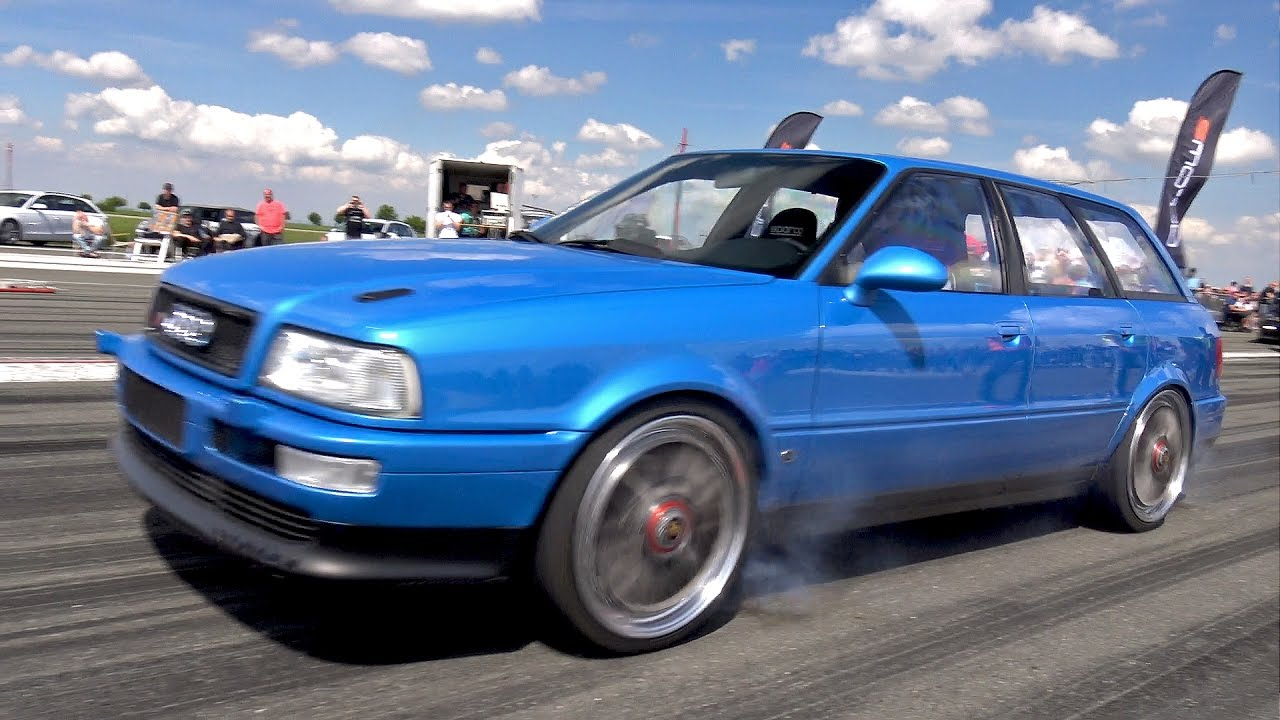 800hp audi s2 avant fast 1 4 mile test run pure turbo sounds youtube. Black Bedroom Furniture Sets. Home Design Ideas