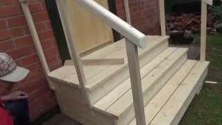 Дверь  с  наличником ,  козырёк , крыльцо .  Часть   4 .(Это видео создано с помощью видеоредактора YouTube (http://www.youtube.com/editor), 2015-08-29T06:23:17.000Z)