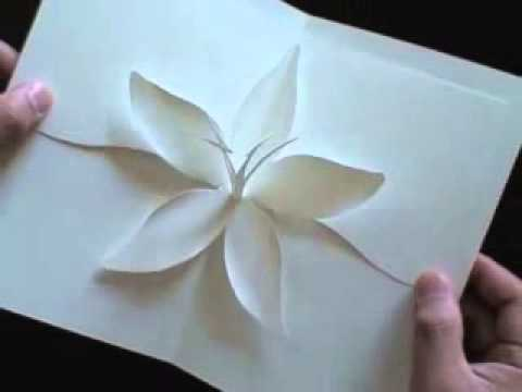 Origami Flower Lily Youtube