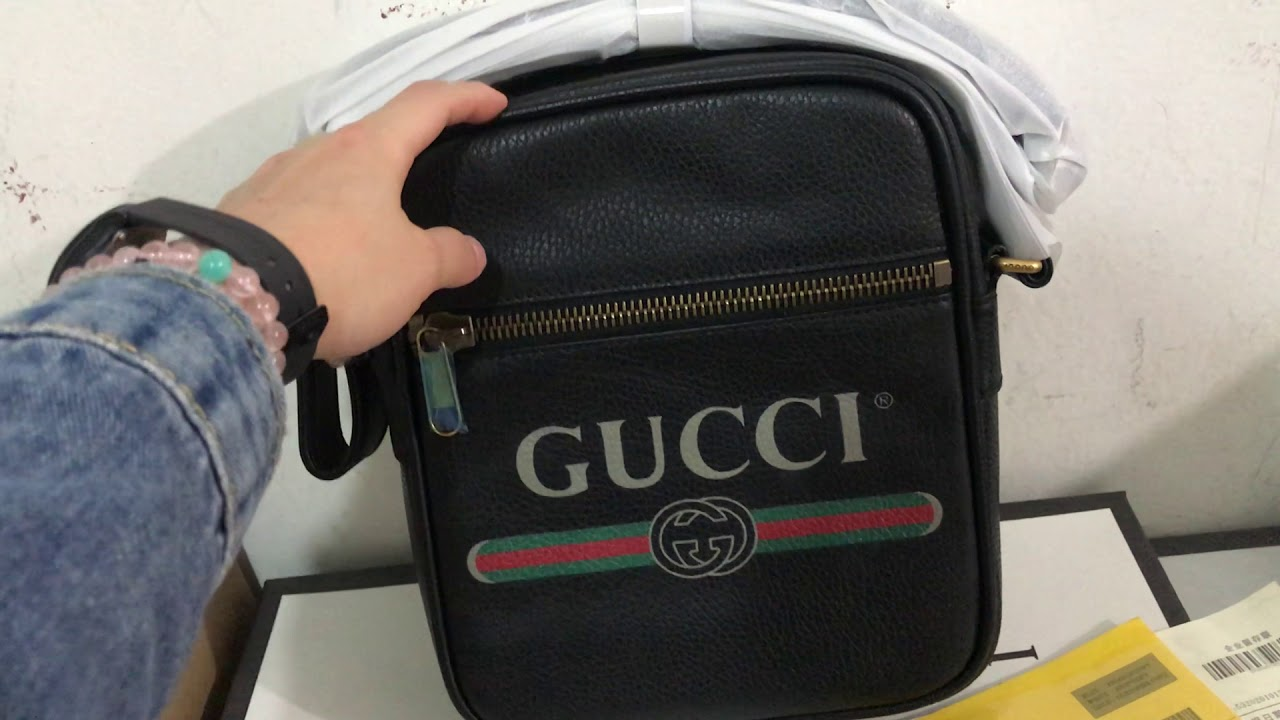 65247dde8689c8 Review for Gucci Print Messenger Bag Gucci Crossbody - YouTube