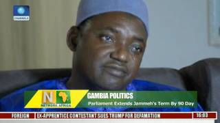 Network Africa: Gambian Paliament Extends Jammeh