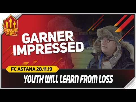 SOLSKJAER RIGHT TO PLAY YOUTH! FC Astana 2-1 Manchester United Fan Cam