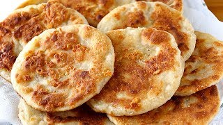 Wheat and cheese tortillas that fly on the table! - Very easy recipe
