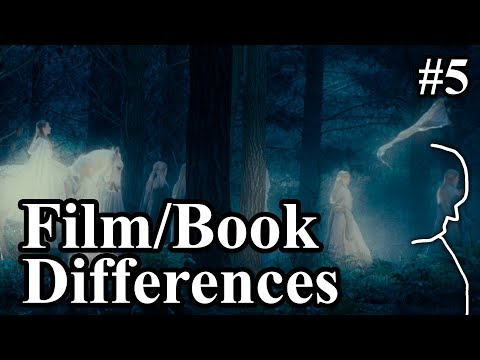 Frodo Leaving The Shire, Nazgûl & Meeting The Elves - LotR Film & Book Differences & Lore Explained