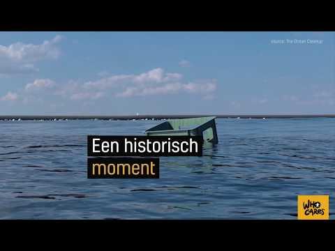 The Ocean Cleanup gaat de zee op!