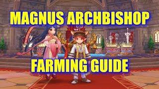 MAGNUS ARCHBISHOP FARMING GUIDE, 1 HIT JUNO MOBS WITH MAGNUS