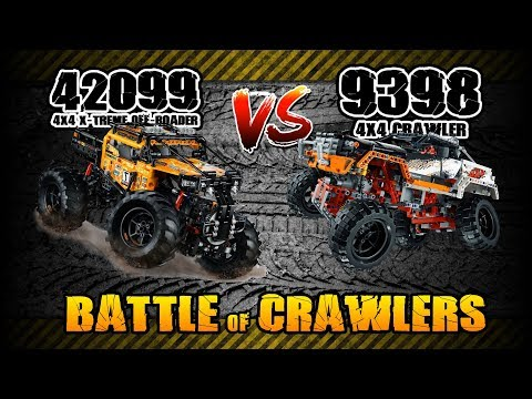 LEGO 42099 VS 9398: Which One Is A Better Off-roader? [4K]