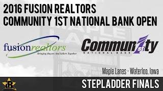 2016 Fusion Realtors - Community 1st National Bank Open   Bracket/Stepladder Finals