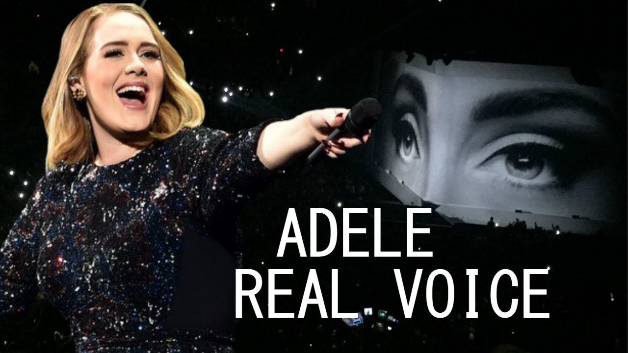 ADELE LIVE REAL VOICE 2016 (WITHOUT AUTOTUNE)