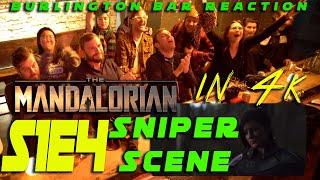 "The Mandalorian S1E4 ""SNIPER SCENE"" Reaction in 4K!!!"