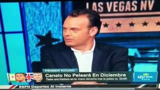 Canelo Mamonsito ESPN Deportes A Los Golpes