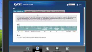 ZyXEL VMG3312-B10B PORT AÇMA KESİN SONUÇ