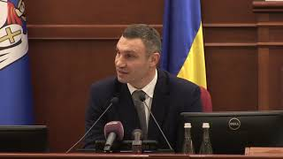 Кличко: ми повинні ухвалити збалансований бюджет Києва-2018 задля подальших перетворень