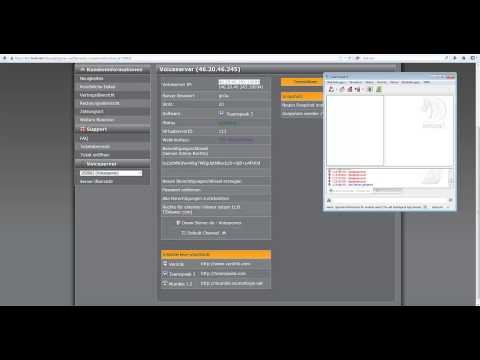 tutorial teamspeak 3 webinterface installieren deutsc doovi. Black Bedroom Furniture Sets. Home Design Ideas