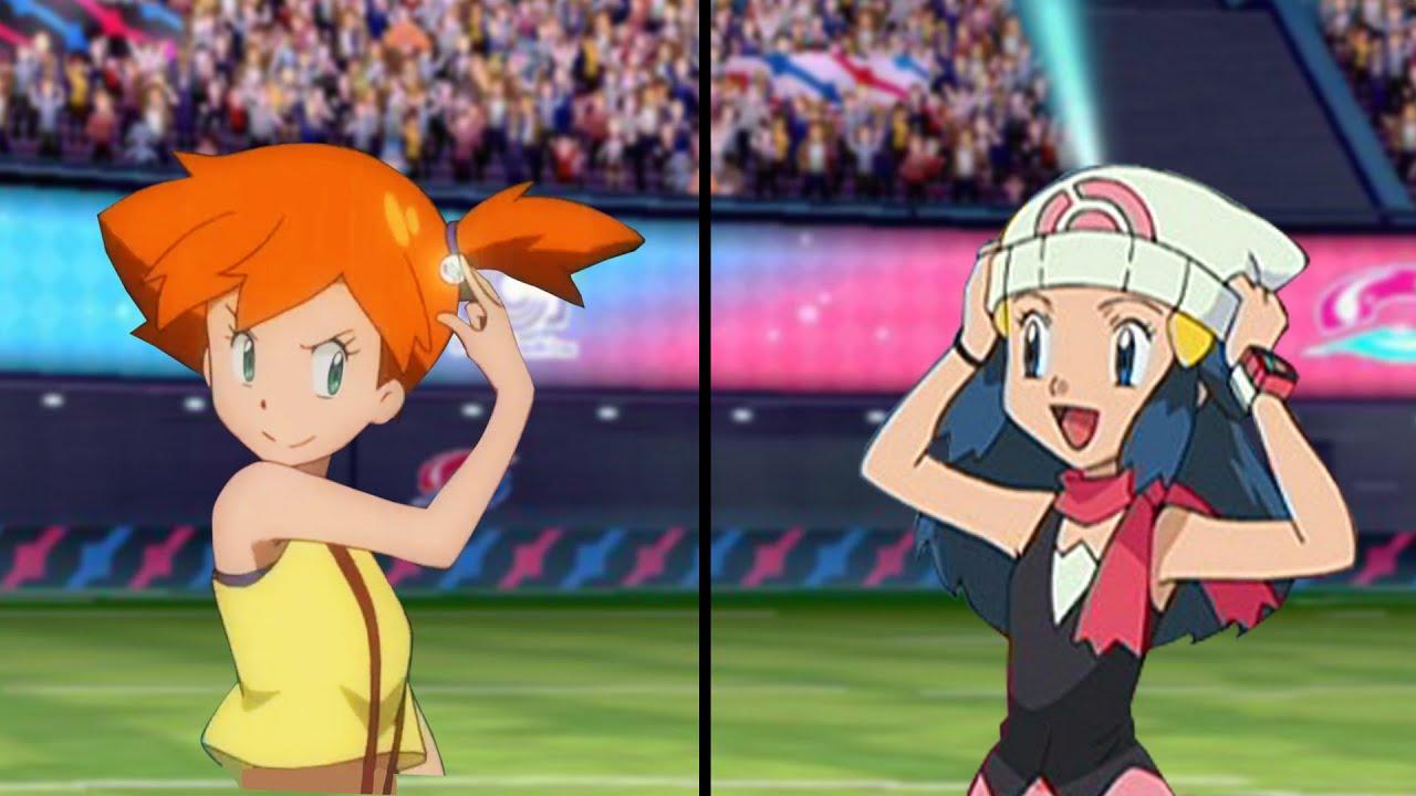 Download Pokemon Characters Battle: Misty Vs Dawn (Ash Ketchum Companions)
