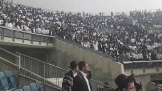 קבלת עול מלכות שמיים באצטדיון טדי - הרב בן ציןן מוצפי